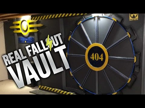 FALLOUT 4 VAULT IN REAL LIFE, A MASS EFFECT RIDE, & MORE