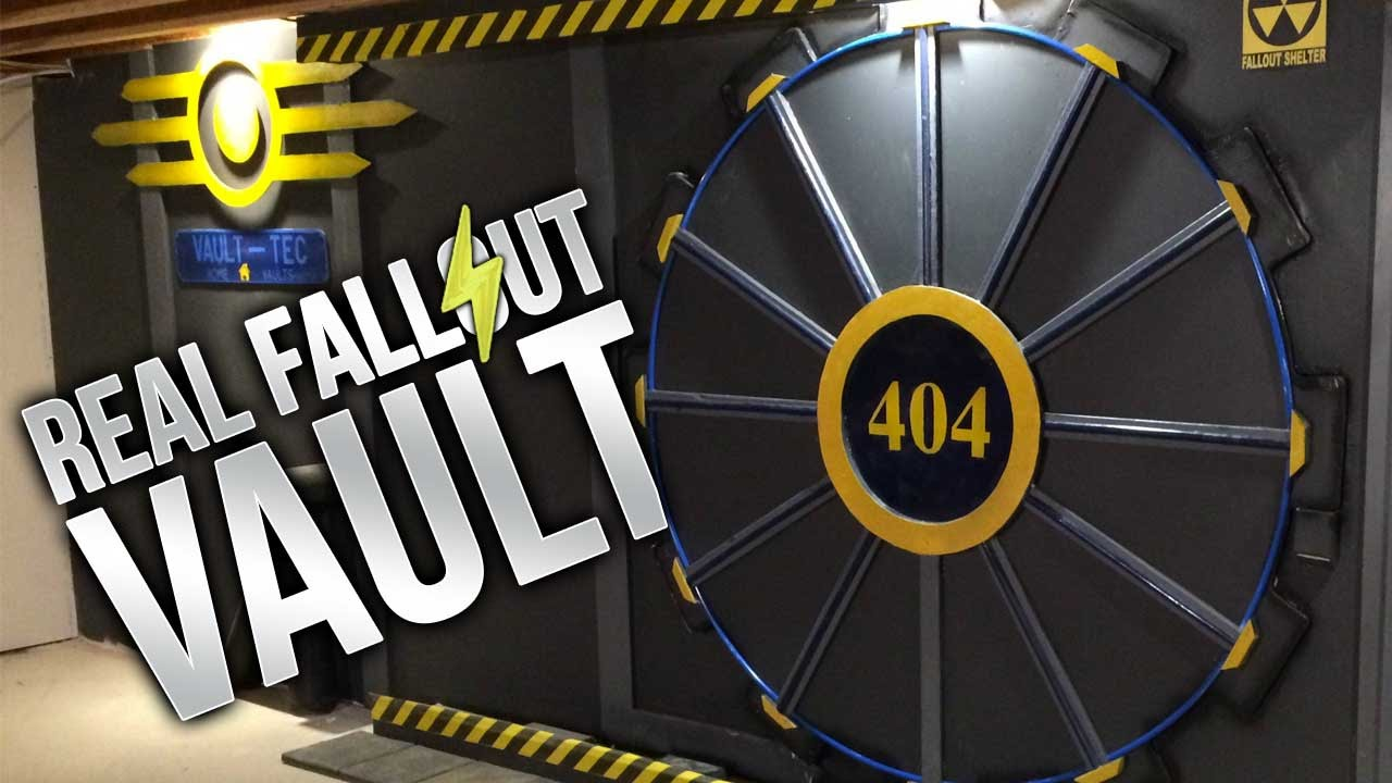 Fallout Vault Door fallout 4 vault in real life, a mass effect ride, & more - youtube