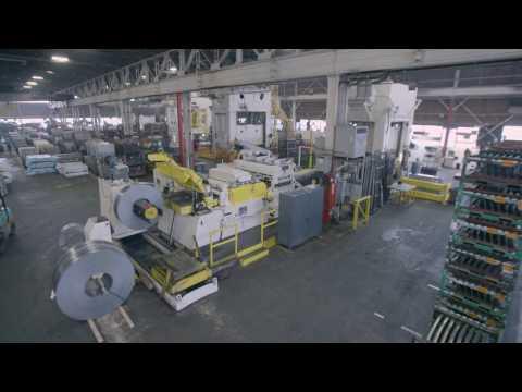 COE Press Equipment - Liberty Steel Straighener Head Retrofit for AHSS