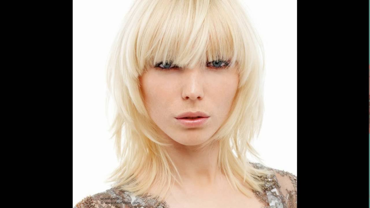 Shaggy Bob Hairstyles For Round Faces । 30 Shaggy Bob Hairstyles ...