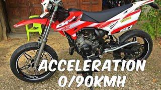 TOP SPEED / Accélération BETA RR 50 ARROW