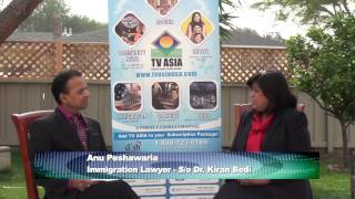 Indian American Lawyer Anu Peshwaria: Meet Kiran Bedi
