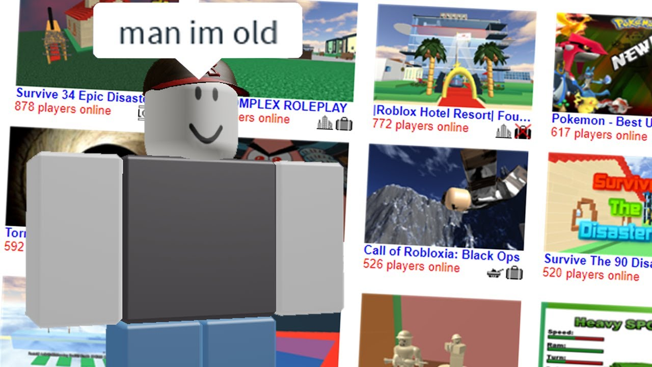 Roblox Games From 10 Years Ago Youtube