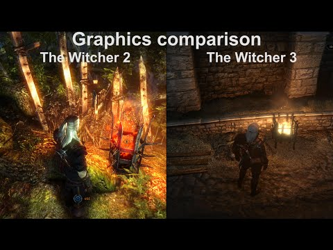 The Witcher 3 vs The Witcher 2 | Graphics Comparison - YouTube