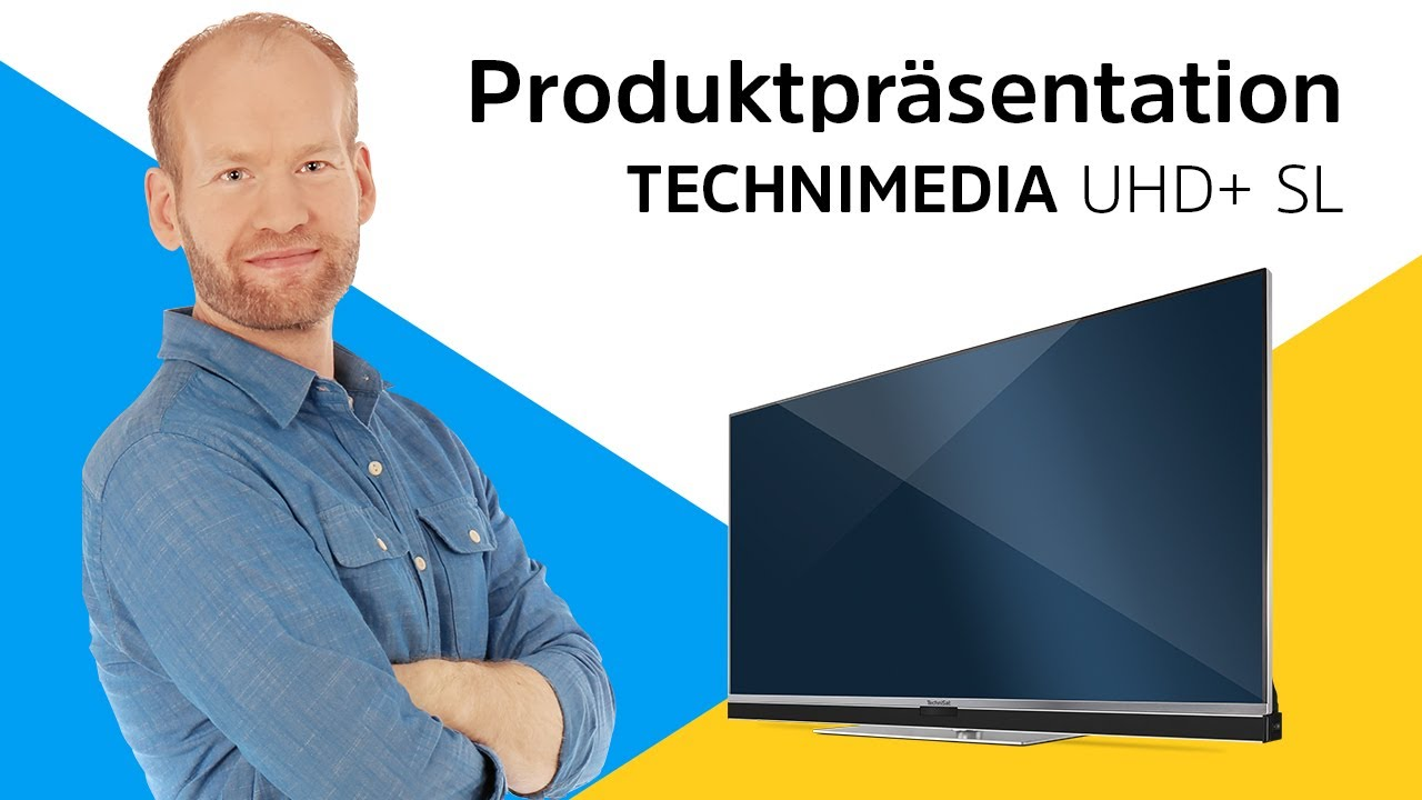 Video: TECHNIMEDIA UHD+ SL | UHD/4K Smart-TV mit Megasound. | TechniSat