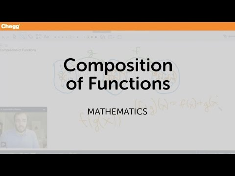 Composition of Functions | Math | Chegg Tutors