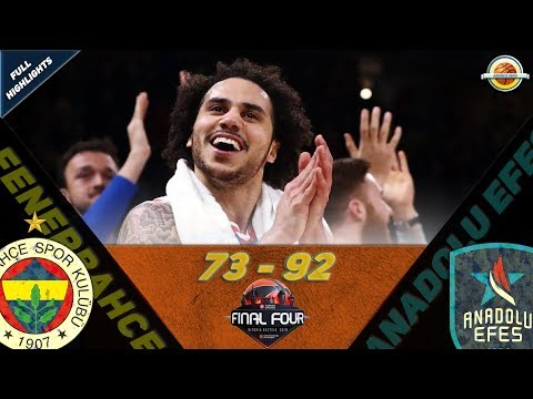 Fenerbahce Beko Istanbul - Anadolu Efes |73-92| ●  Highlights ● Final Four Semif