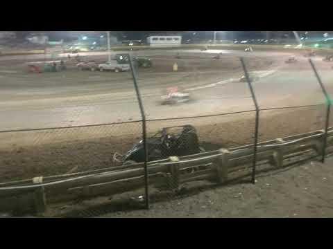 Wreck at lemoore raceway