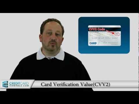 CVV2 Number - What Is CVV2