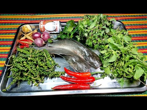 Yummy Yummuy, Fried Young Pepper Clarias Macrocephalus, Cooking Food