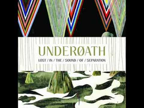 underoath coming down is calming down