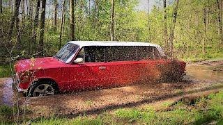 Новый автомобиль для оффроуда,Жигули лимузин,полный привод??
