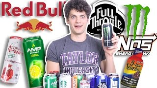 Baixar HEALTH FREAK Tries Energy Drinks for FIRST TIME