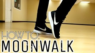 HOW TO: LEARN TO MOONWALK IN 5 MINUTES! 3 EASY STEPS!