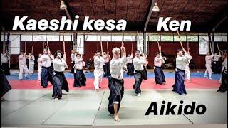 Aikido - Aikiken / Yokomen uchi by  Bruno Gonzalez