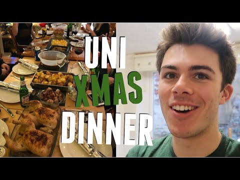 UNI VLOG: OUR UNIVERSITY CHRISTMAS! (Uni Xmas Dinner, Pantos, Shots, and Stars) | Jack Edwards