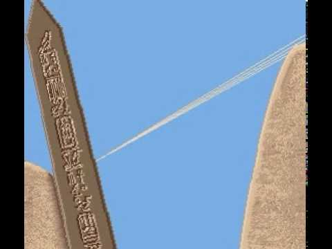 How the obelisks were erected in Ancient Egypt (theory)