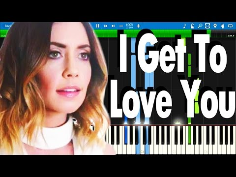 RUELLE - I Get To Love You | Synthesia Piano Tutorial