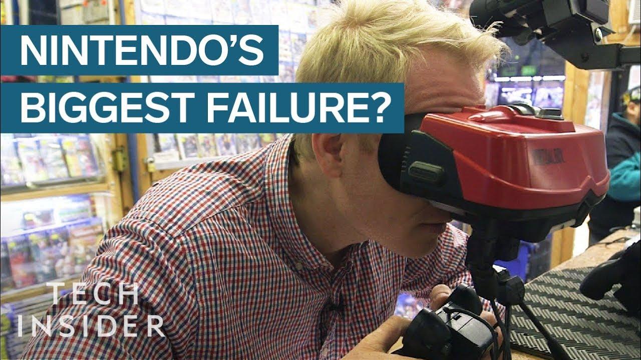Why Nintendo's Virtual Boy Was An Epic Failure