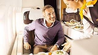 lufthansa a380 first class   frankfurt to miami