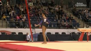 Amalie Morgan - Floor - 2017 - British Gymnastics Championships - Womens Junior All Around