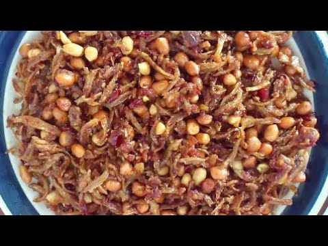 Sambal Ikan Bilis (Anchovies in Chilli Paste) - YouTube