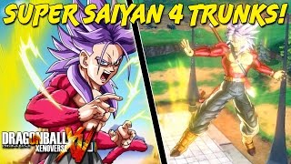 Super Saiyan 4 Trunks! | Dragon Ball Xenoverse PC Mod