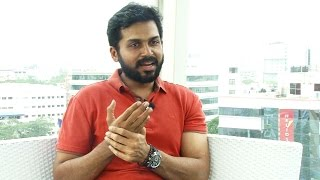 Watch Karthi 's very First Exclusive Frank & detailed interview about