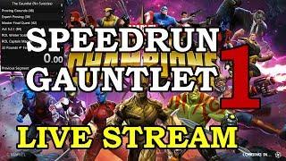 The Gauntlet Speedrun - Part 1 (no suicides) | Marvel Contest of Champions Live Stream