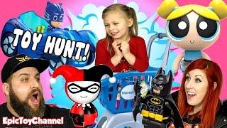 TOY HUNT @ Wal-Mart Paw Patrol, Powerpuff Girls, PJ Masks Surprise Toys & Lego Batman Movie Toys