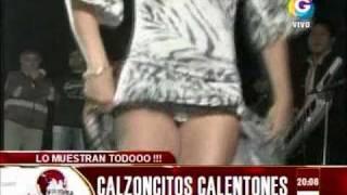 Repeat youtube video Calzoncitos calentones en la televisión peruana (El Noticioso 22-11-2010)