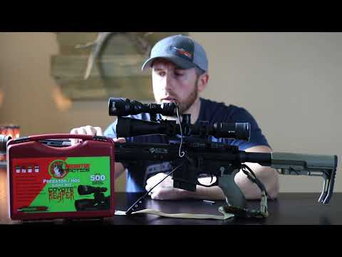 Predator Tactics Coyote Reaper Red Hunting Light Review