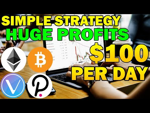 Easy Day Trading Strategy That YOU Can Learn | Cryptocurrency Tutorial