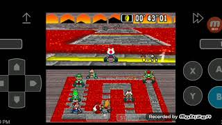 Super Mario Kart - 50cc Mushroom Cup Race