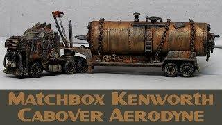 Matchbox Custom Post Apocalyptic Zombie Gasoline Tanker