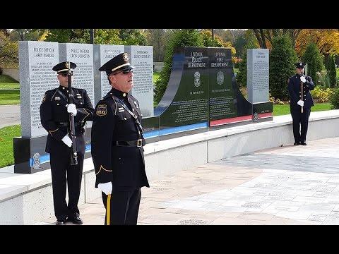 City of Livonia Nehasil Park Fallen Heroes Monument Dedication