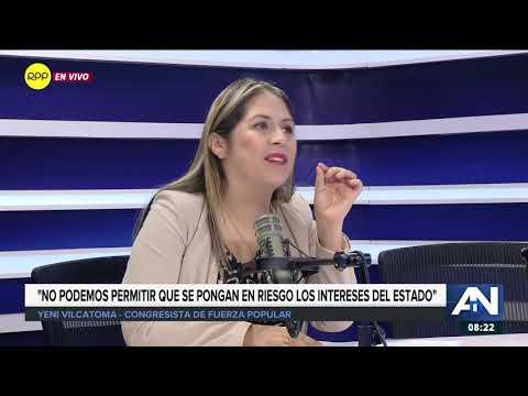 Vilcatoma: Al haber mentido, el acuerdo con Odebrecht no se puede salvar y se tiene que revocar 2/2