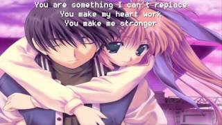 Nightcore - Not Letting Go - Tinie Tempah ft. Jess Glynne (+ Lyrics)