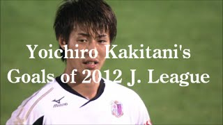 柿谷曜一朗 Jリーグ 2012 全11ゴール集 | Yoichiro Kakitani's All Goals of 2012 J. League HD