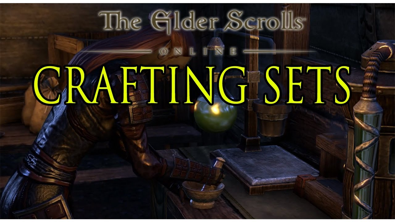 Crafting Different Styles Eso