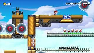 Burning Explosion!! Speedrun 1!!: Beating Super Mario Maker's Super Expert Levels!