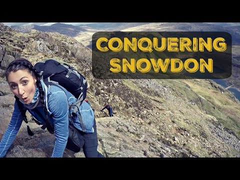 Snowdon's Extremely Dangerous 'Knife Edge' Climb: Crib Goch