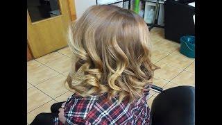 БАЛАЯЖ / ШАТУШ / ОМБРЕ / БРОНДИРОВАНИЕ / Окрашивание волос 2016 / Омбре на русых волосах