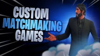 (EU) Hosting Custom Matchmaking Fortnite Games | Cross Platform FREE SKIN (FORTNITE BATTLE ROYALE)