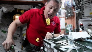 Pudding the space way!