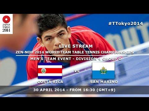 #TTokyo2014: Costa Rica - San Marino