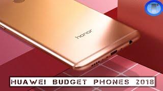 Top 5 Best Huawei Budget Smartphones For 2018