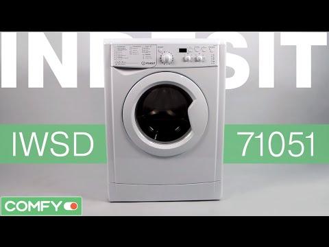 Indesit IWSD 71051 - бюджетная стиральная машина с загрузкой на 7 кг - Видеодемонстрация   от Comfy