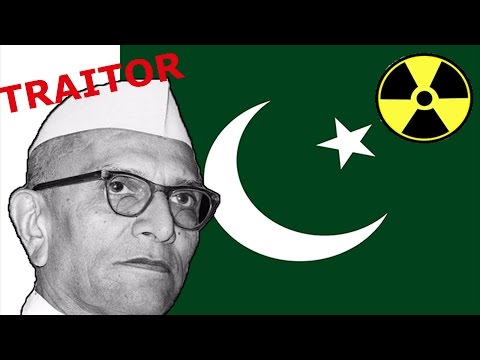 How Morarji Desai helped Pakistan become a nuclear state ?