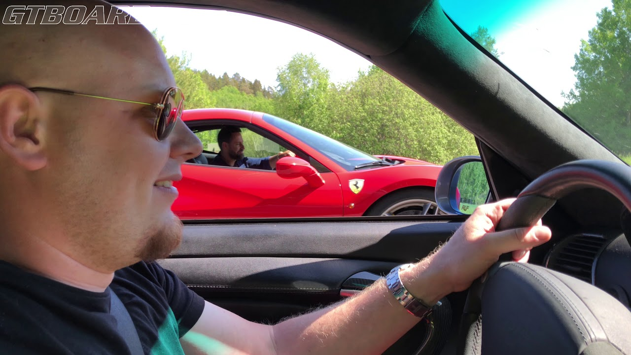 670 Hp Ferrari 488 Spider Vs 650 Hp Ruf Automobile R Turbo 996 Rt12 Spec Short Gearing And 1 5 Bar